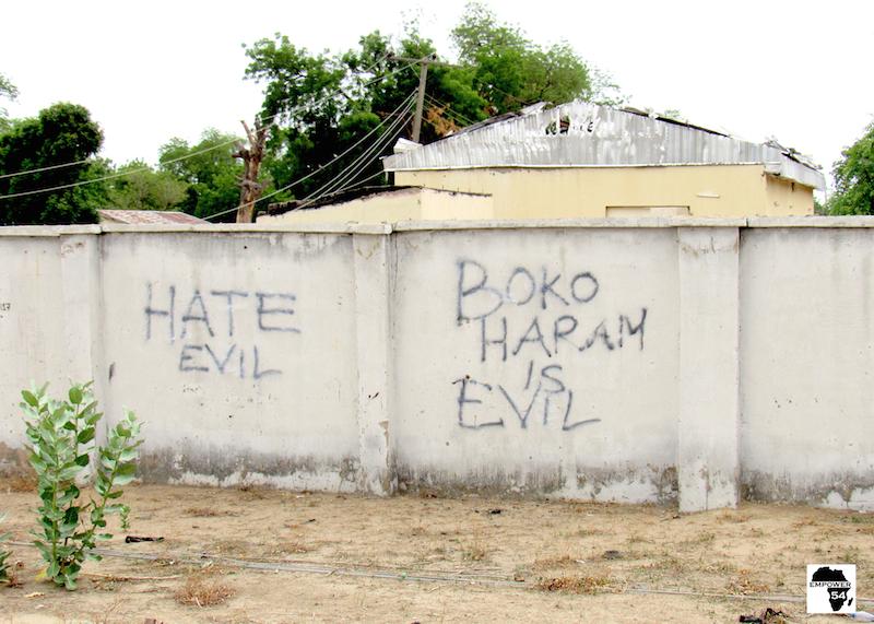 Boko Haram is evil site
