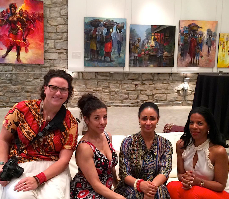 Cara Pastore, Gina Barboza, Modupe Ozolua and Tracy Ming