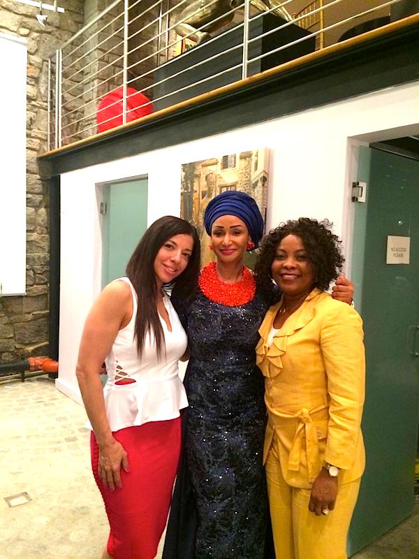 Gina Barboza, Princess Modupe Ozolua and Linda Jesuorobo