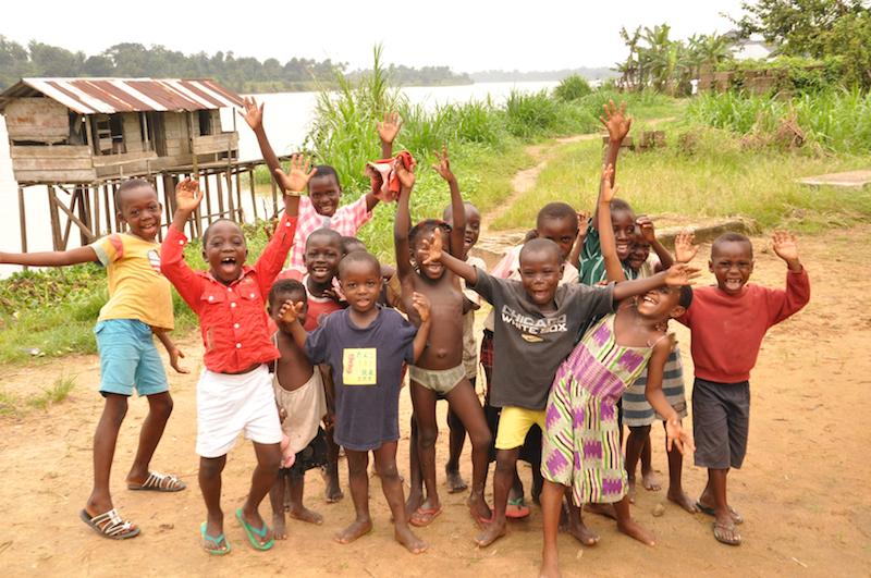 Happy children of Southern Ijaw