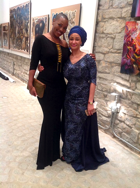 Ida Haris and Princess Ozolua