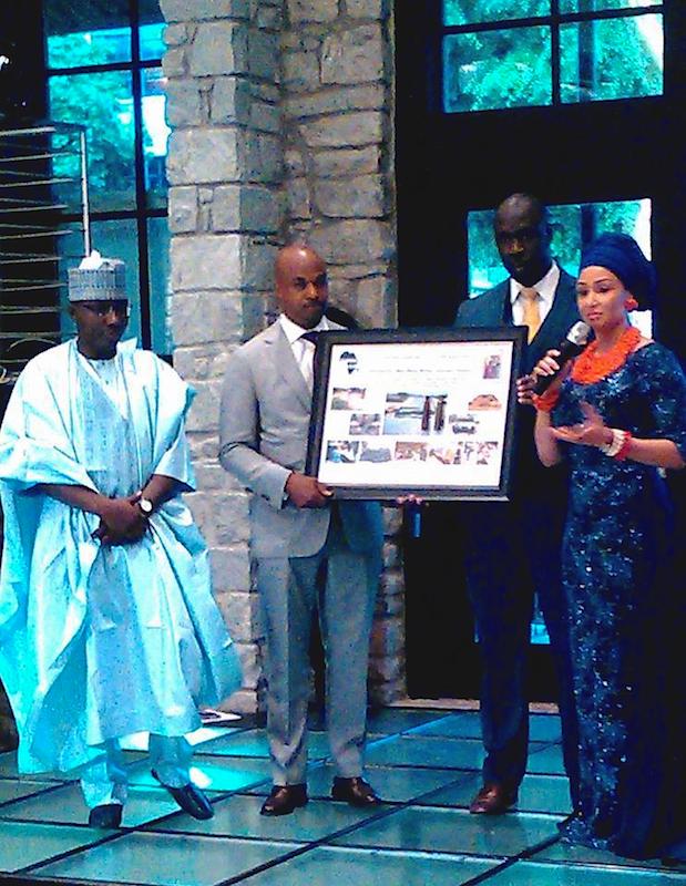 Isa Gusau, Councilman Kwanza Hall, Jeremiah Ojo and Modupe Ozolua