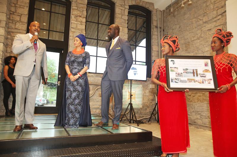 Kwanza Hall, Modupe and Jeremiah