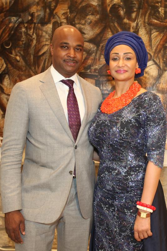 Kwanza Hall and Modupe