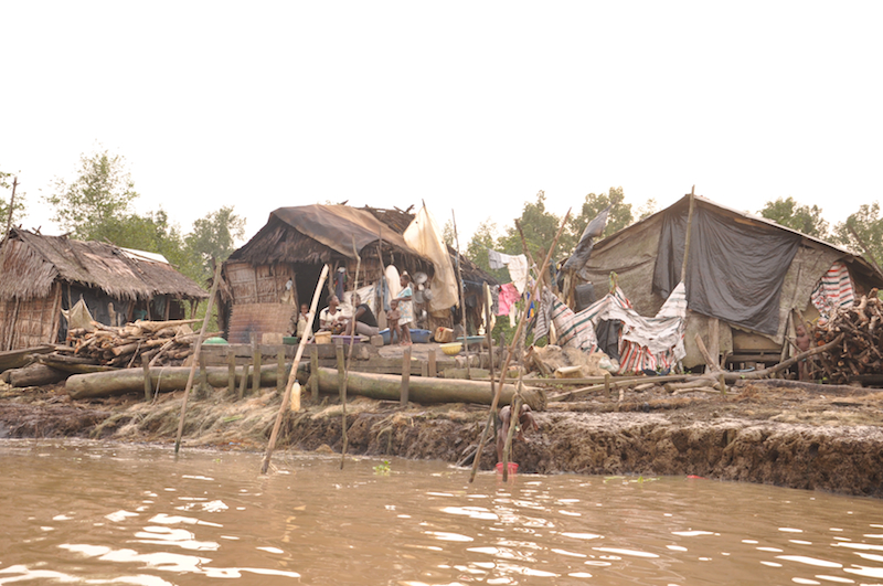 Living conditions deep in the dangerous creeks of Bayelsa State