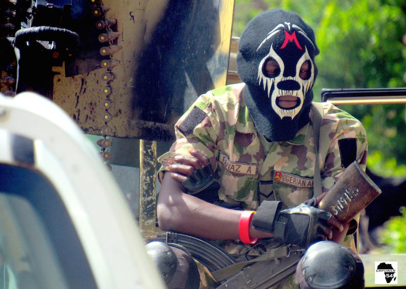 Masked soldier 1 site