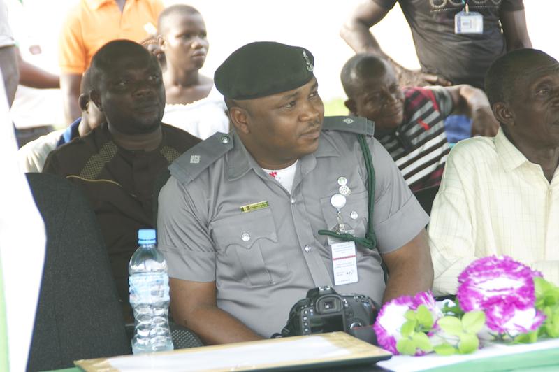 Mike Achimugu representing the CG Nigeria Customs Service copy