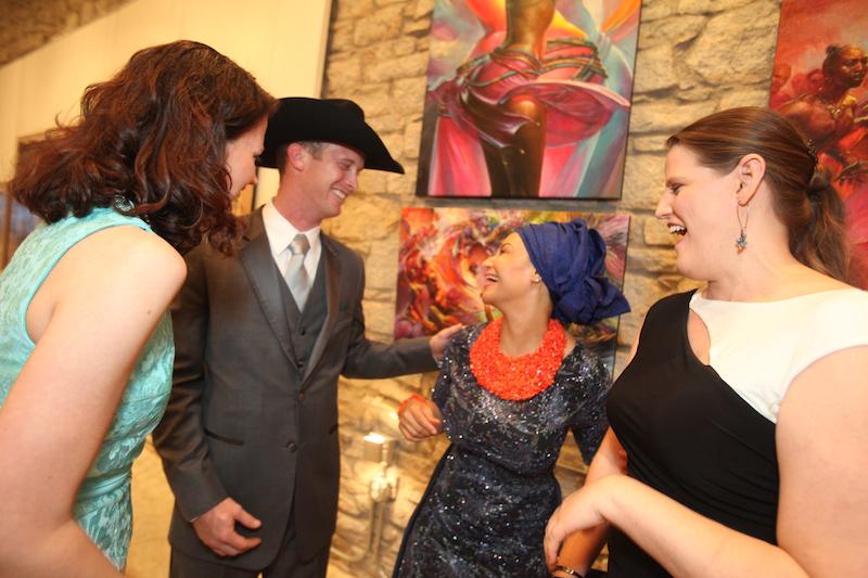 Miranda Berrett, Princess Modupe Ozolua and Heather Anderson 2