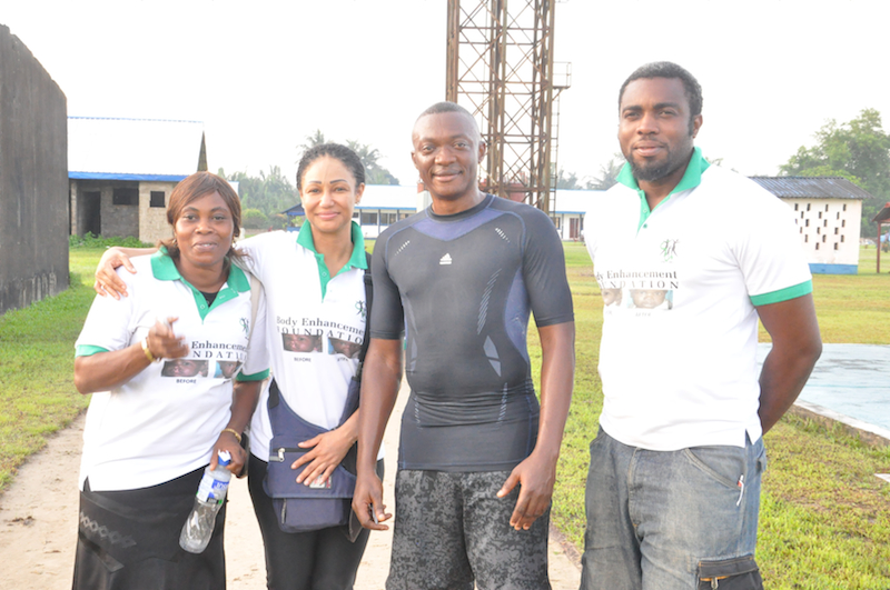Mrs Beredugo, Modupe, XO Crd Kujoh and Desmond