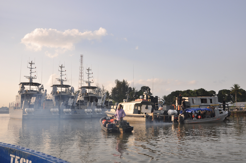 Nigerian Naval Base, Formoso