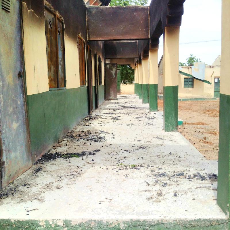Para Primary and Nursery school, Askira, Uba, Borno State site