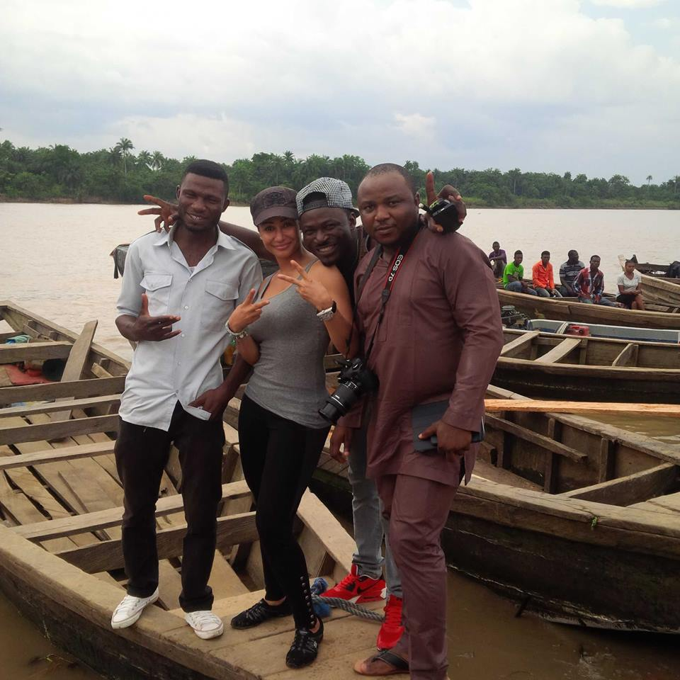 Philip, Modupe, Shegun and Mike