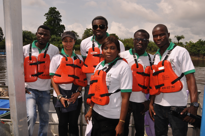 Ready to enter the dangerous creeks of Bayelsa State