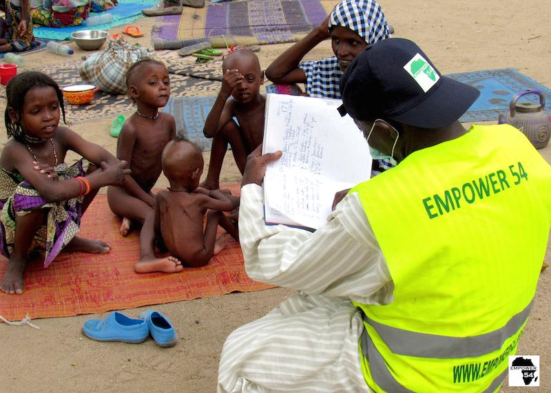Rescued children site