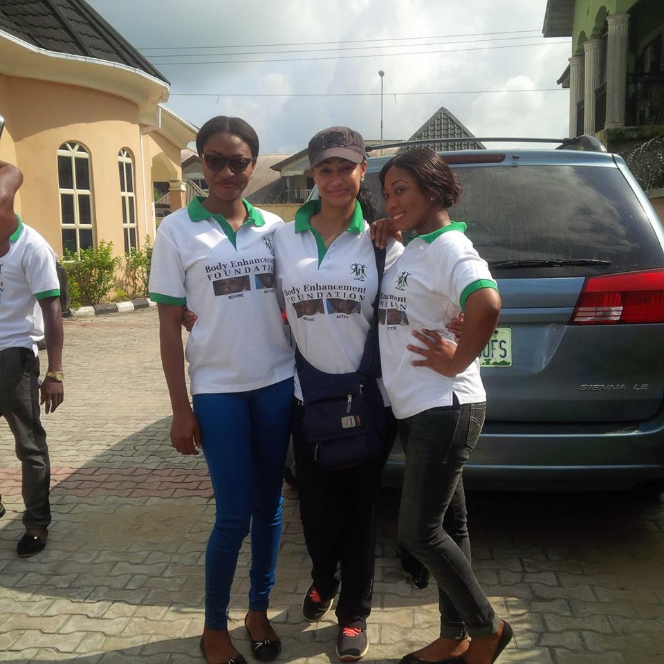 The female Optometrist in the team