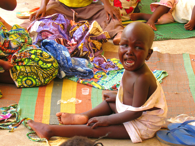 a rescued child crying 2 site
