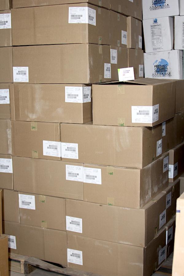 cartons of antibiotics