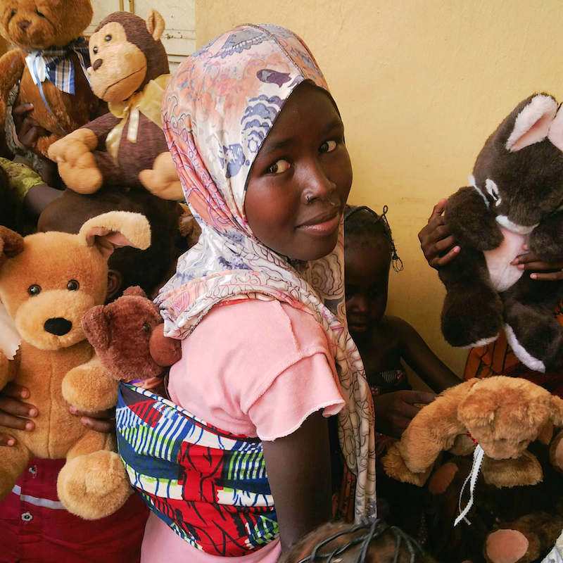 children with their new toys site