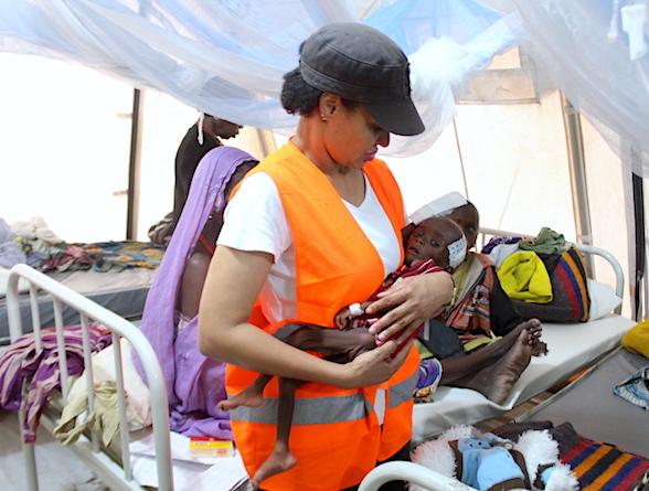Modupe Ozolua and baby hadiza site