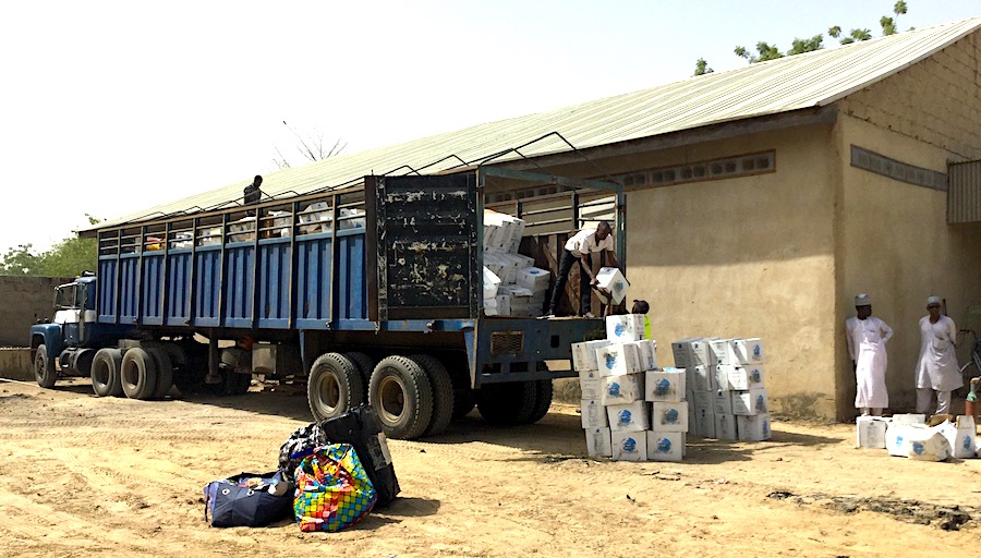 Empower 54 Gives 40 Feet Container of Meds to IDPs in Borno State