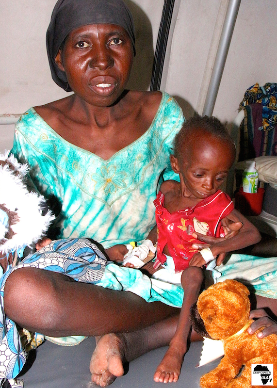 Empower54 evacuates malnourished children in Bama