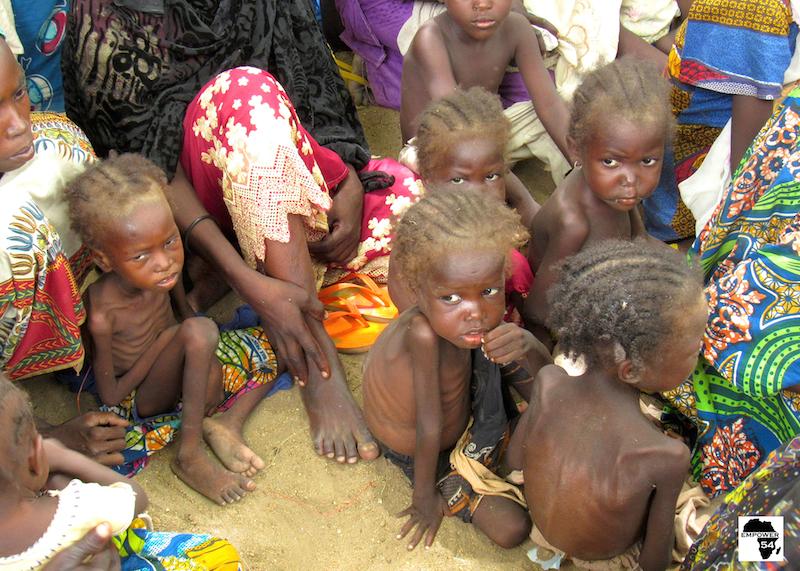 Malnourished Children of Bama Evacuation (1)