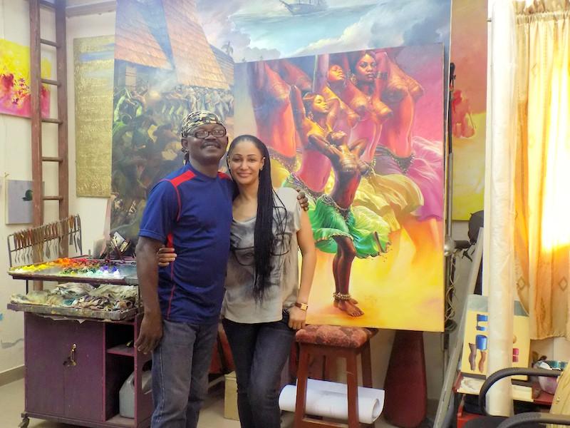 El Dragg Leonard Okwoju and Princess Ozolua