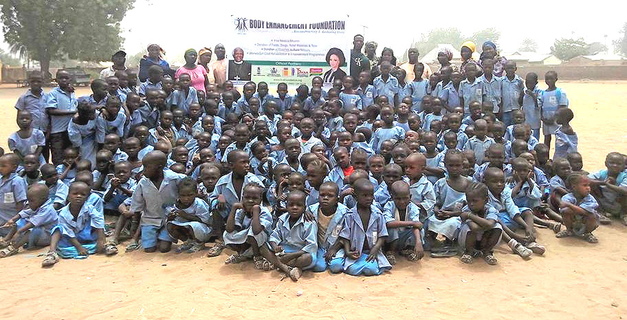 Body Enhancement Foundation Sponsors Education for 501 Displaced Children in Yola
