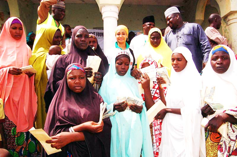 Homes and Businesses Sponsored For Hundred Of Displaced Women In Gombe State