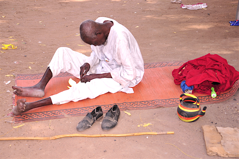 Behind The Scenes: IDPs Prayed for Empower 54 team